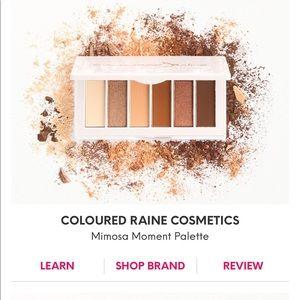 Mimosa Coloured Rain Eyeshadow Palette
